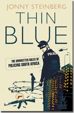 Thin Blue cover Jonathan Ball Publishers